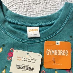 NWT Gymboree Ready Jet Go Floral dress Girl Dress 6,7